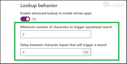 Controlling Typeahead Search Trigger in the Advanced Lookup