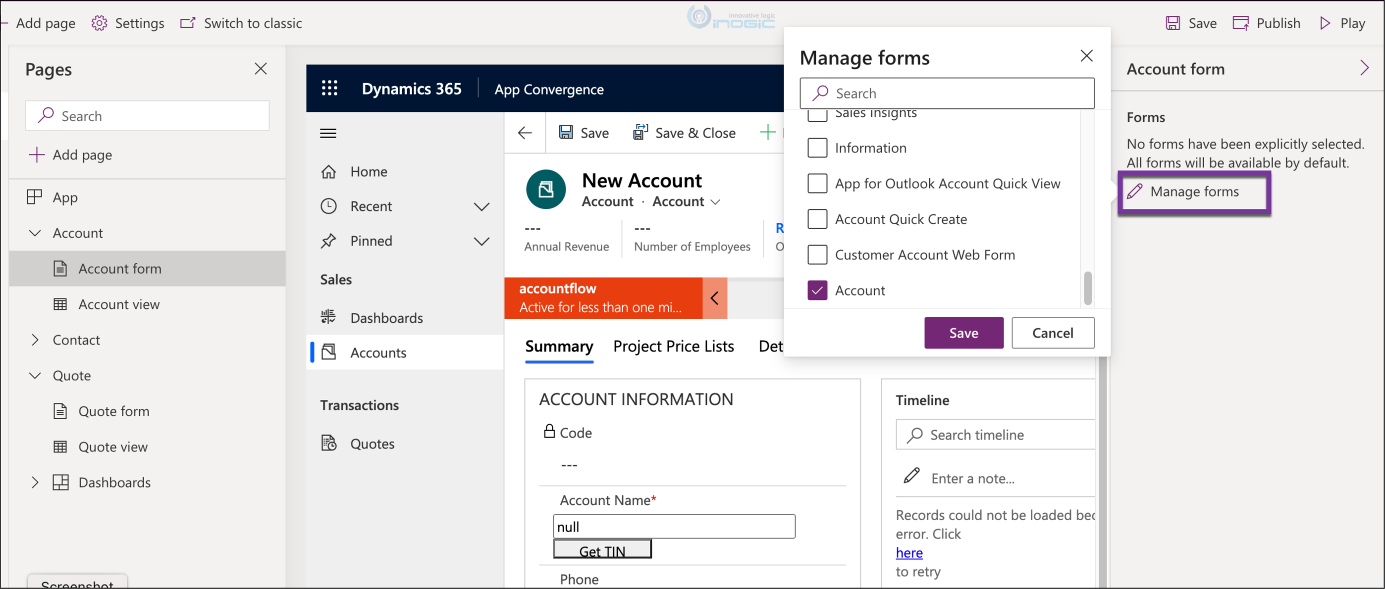 New maker experience for App designing in Dataverse and Dynamics 365 CRM