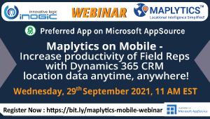 Maplytics Webinar