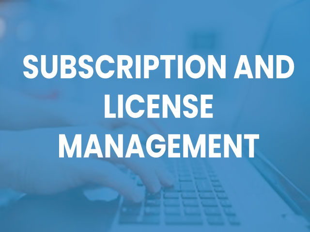Subscription-and-License-Management